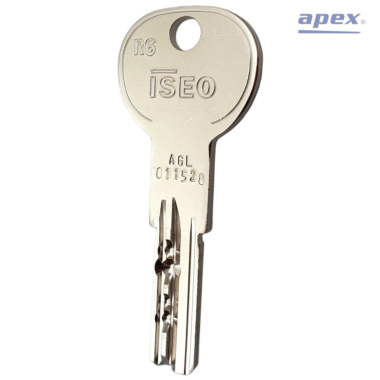 Kľúč ISEO R6