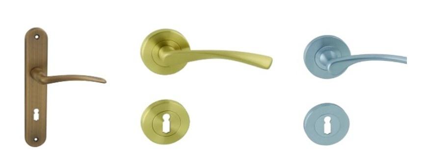 Kľučky na interiérové dvere