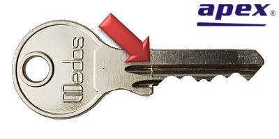 Kľúč Medos - odlievaný